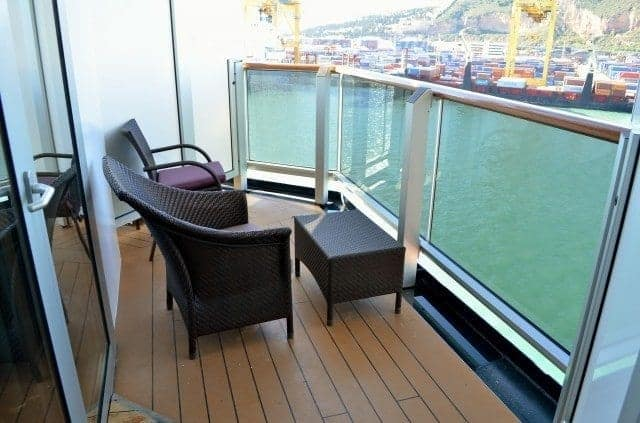 Holland America Nieuw Amsterdam Accessible Balcony
