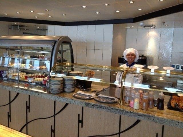 Nieuw Amsterdam Lido Restaurant