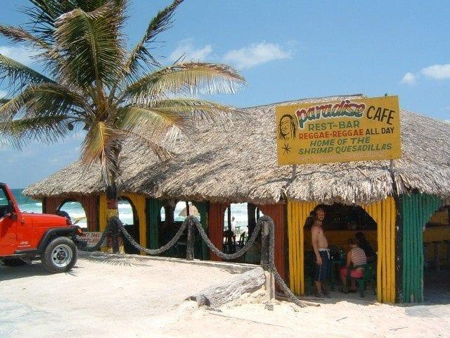 Paradise Cafe Bob Marley Bars Cozumel