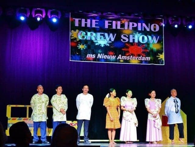 Nieuw Amsterdam Filipino Crew Show