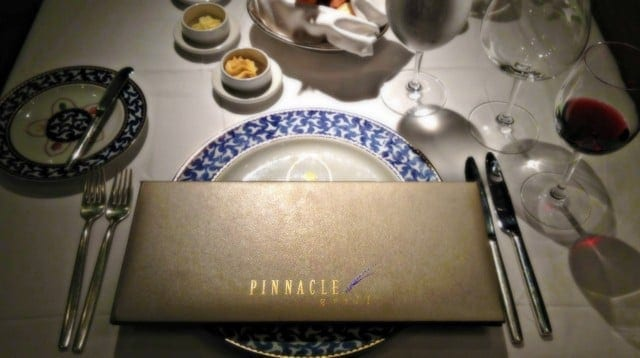 Pinnacle Grill on the Maasdam
