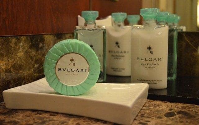 Silvsesea Silver Spirit bath amenities