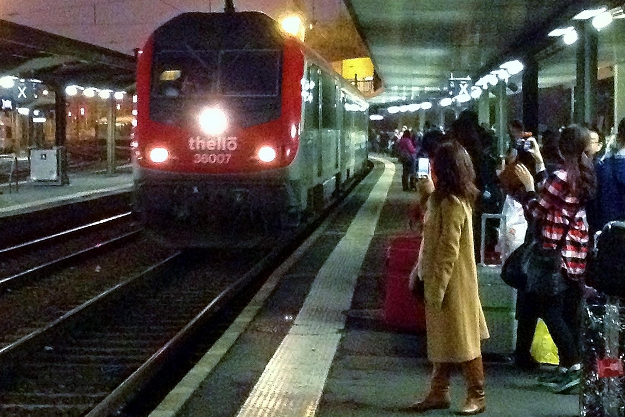 By Train To Venice Via Southampton London And Paris