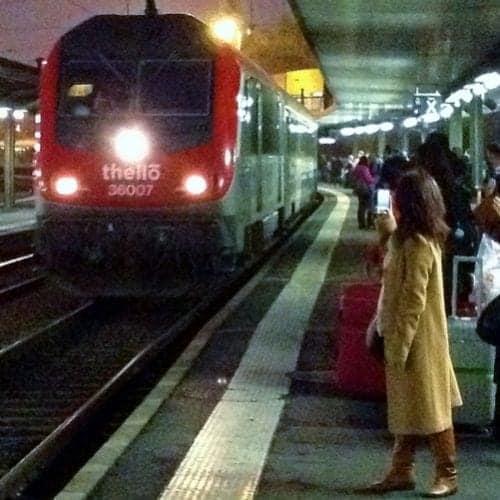 Thello train overnight from Paris to Venice.