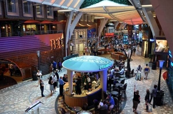 Did you know? The first Starbucks at sea is aboard the Allure of the Seas.