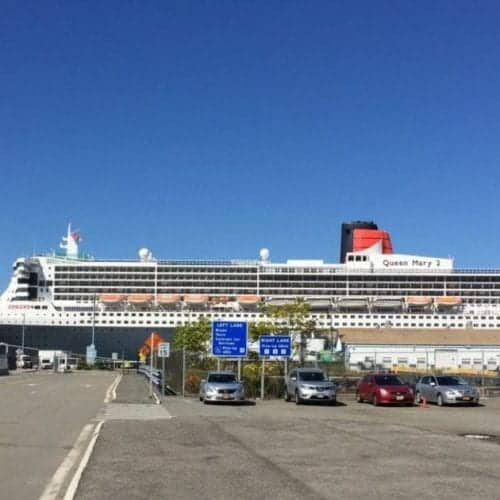 Queen Mary 2 at Brooklyn Cruise Terminal
