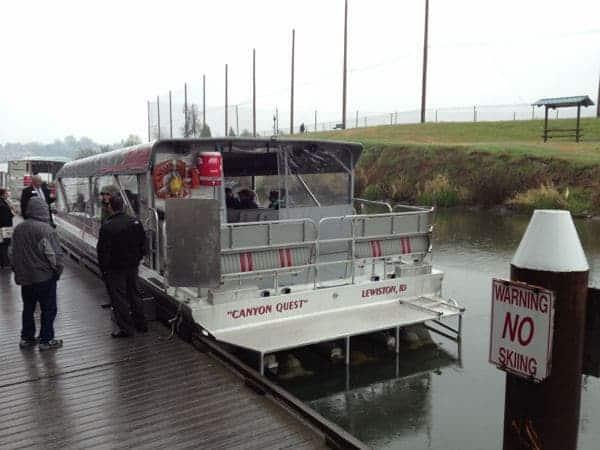 Snake river jet boat