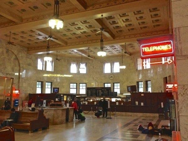 Portland, Oregon; another beautifully refurbished Union Station.