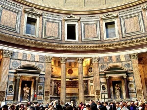 Rome's Pantheon.