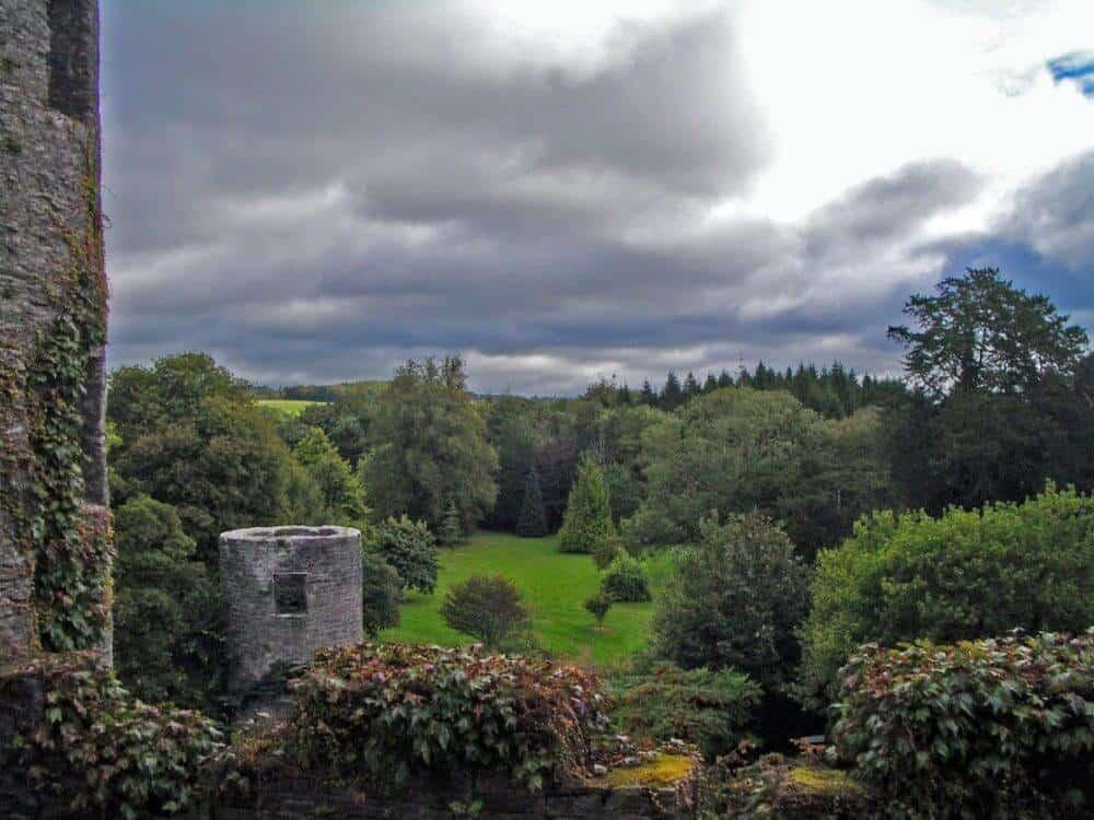 At Blarney Castle in Cork Ireland.