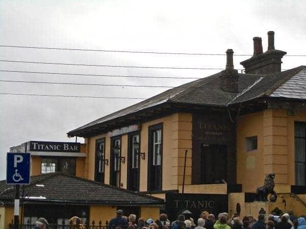 Titanic Bar in Cobh
