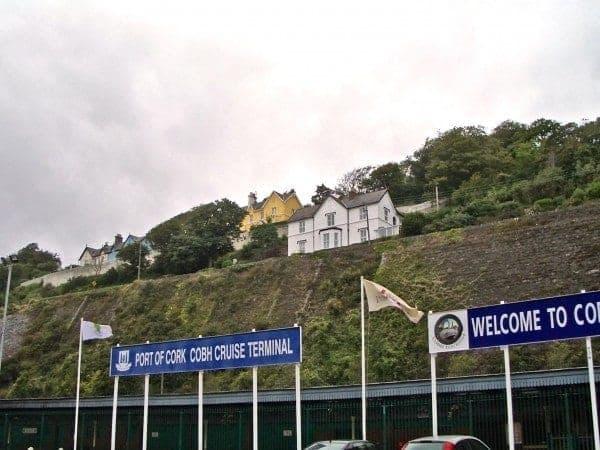 Port of Cork Cobh cruise terminal