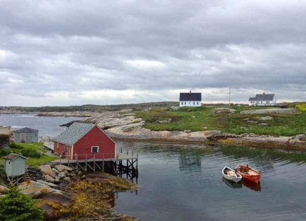 An afternoon trip to picture postcard Peggy's Cove, from Halifax, Nova Scotia.
