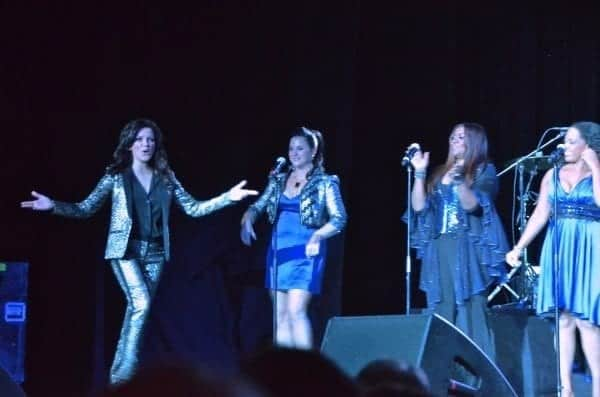 Martina McBride takes the stage aboard Carnival Ecstasy.