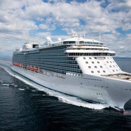 Princess Cruises Regal Princess at Sea Trials