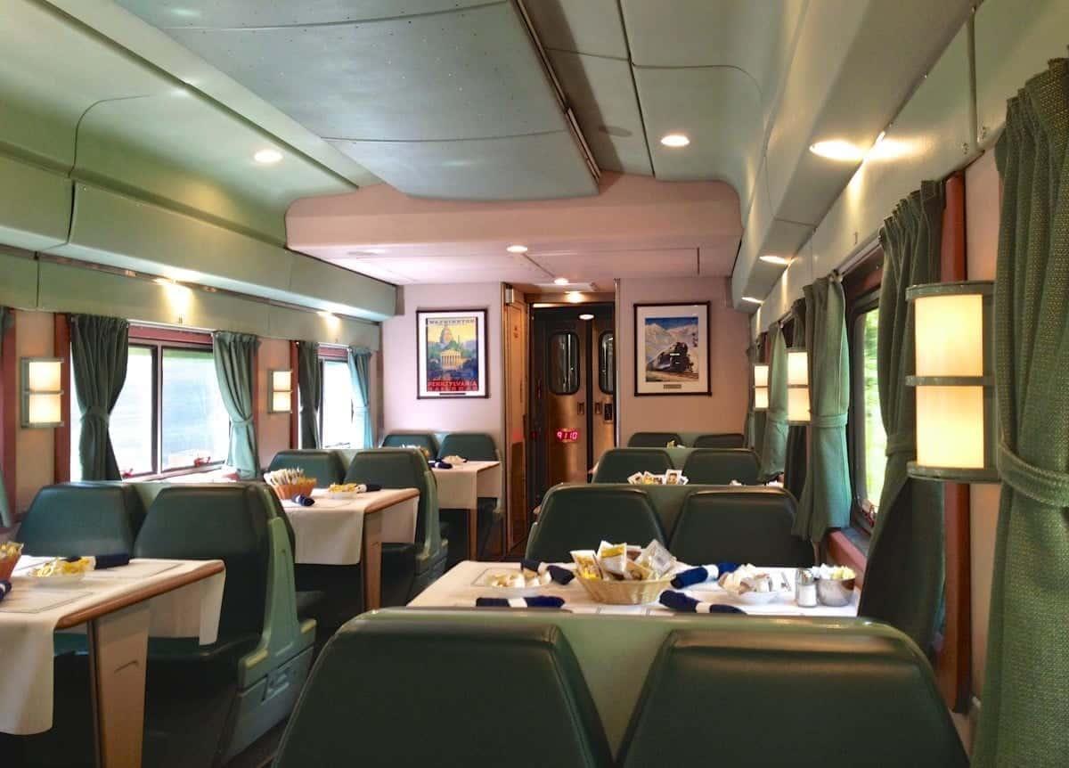 Silver Streak Luxury Food And Wine Train