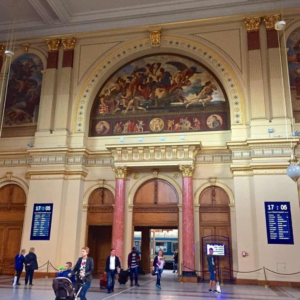 Arriving into Budapest Keleti station for my Viking Grand European Tour.