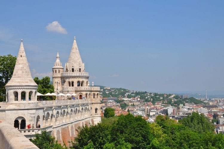 Fisherman's Bastion on the Buda side is on my top places to visit in Budapest list.