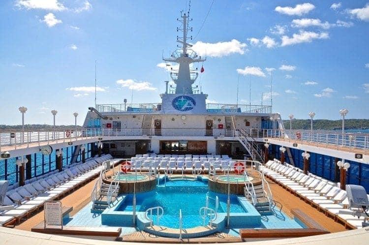 Azamara Club Cruises Corporate Executive Chef Robert van Rijsbergen puts new spin on a Greek salad.