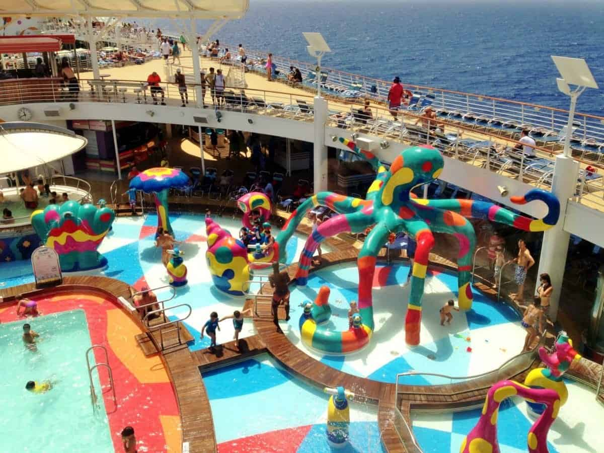 Royal Caribbean Oasis of the Seas Kids Aqua Park