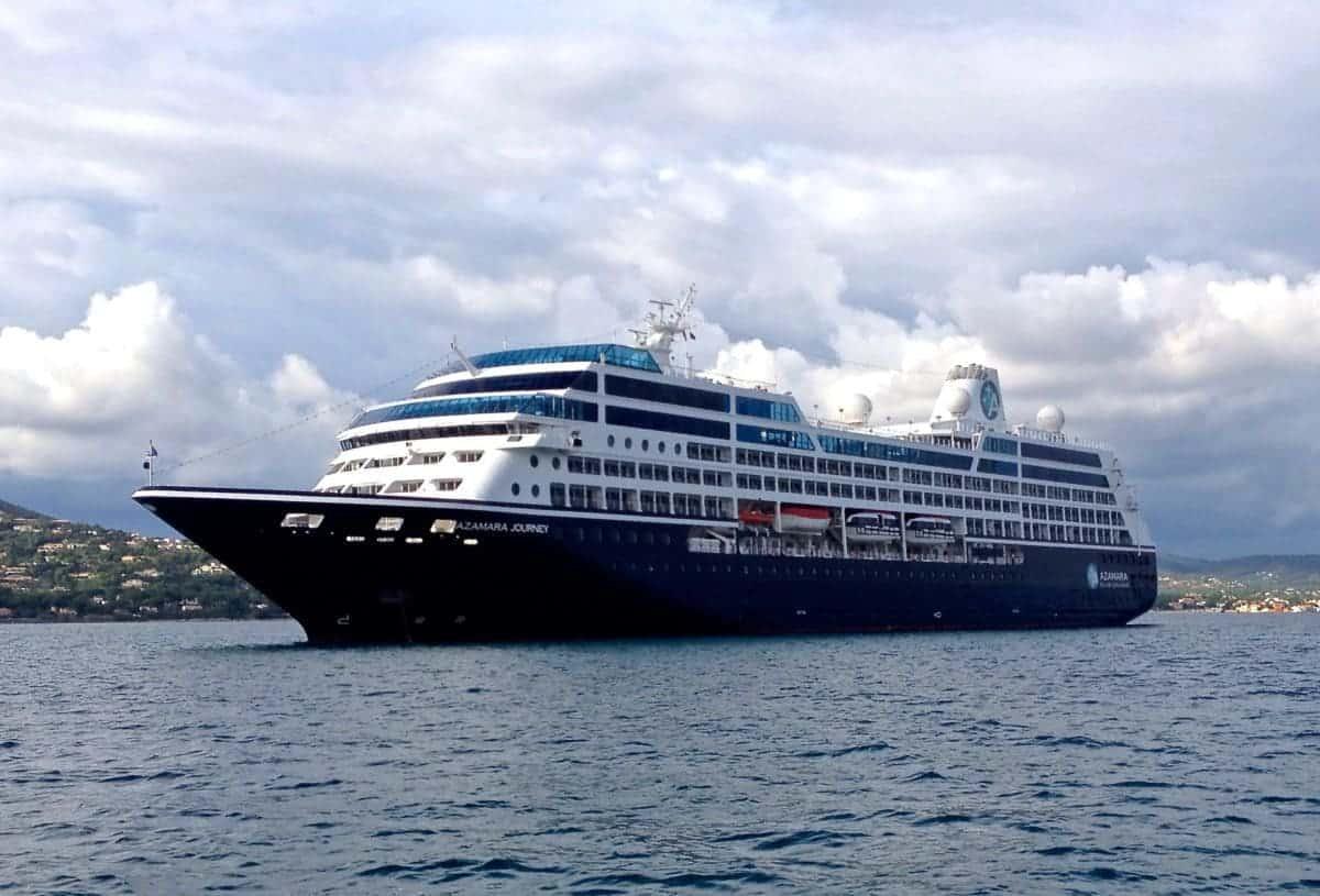 Azamara Journey in Caribbean