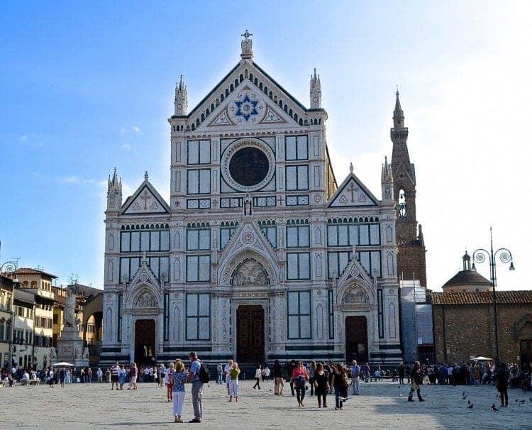Basilica Santa Croce Florence Italy