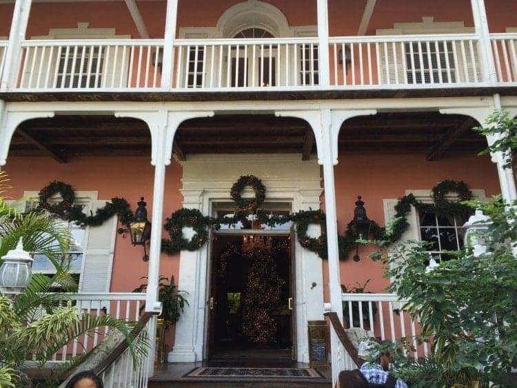 Nassau rum and food walking tour stops at Greycliff Chocolatier