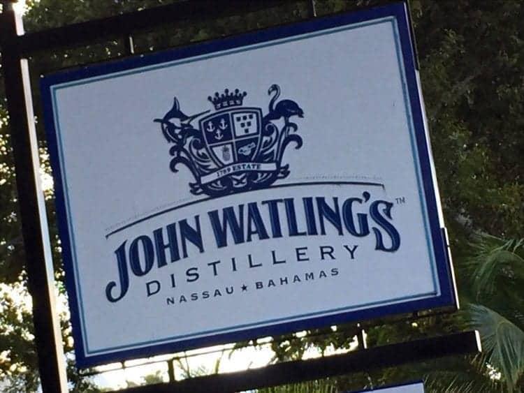 Nassau rum and food walking tour to John Watling's Distillery.