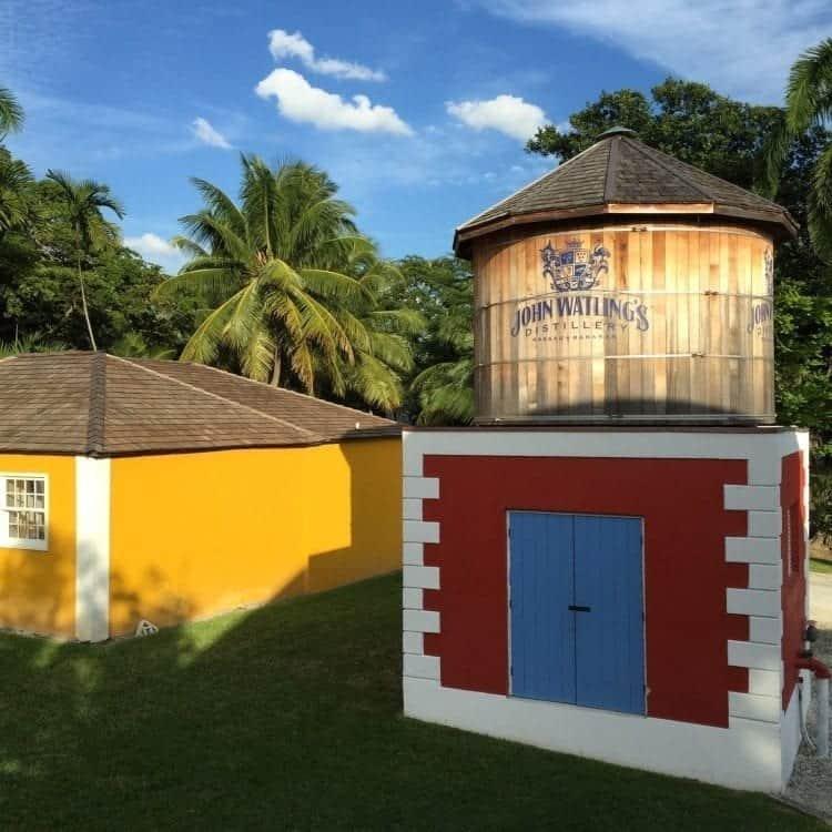 Nassau rum and food walking tour at John Watling's Distillery