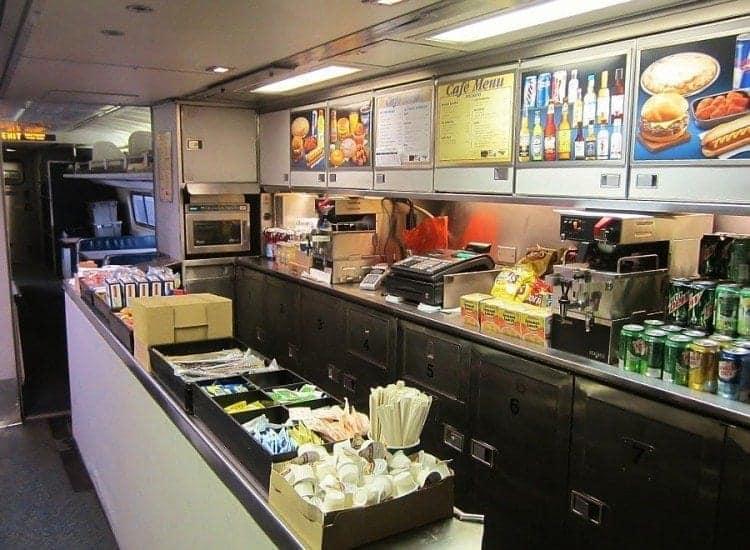 Amtrak Café Lounge Car