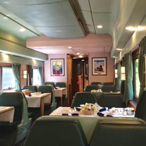 Amtrak Silver Meteor Dining Car.