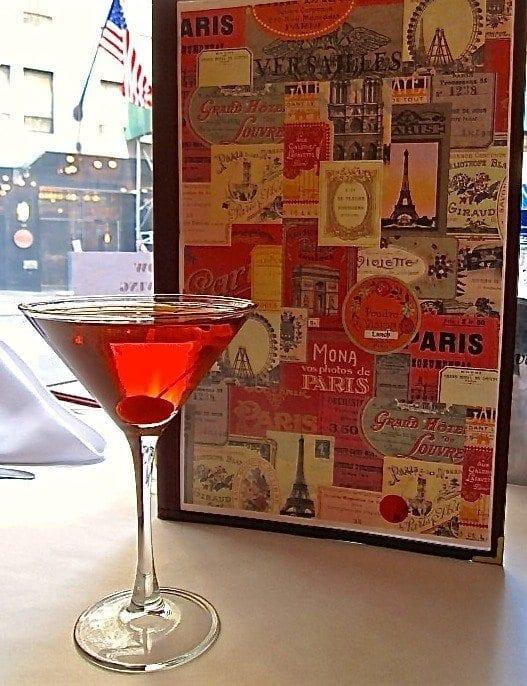 The Perfect Manhattan at Café Un Deux Trois.