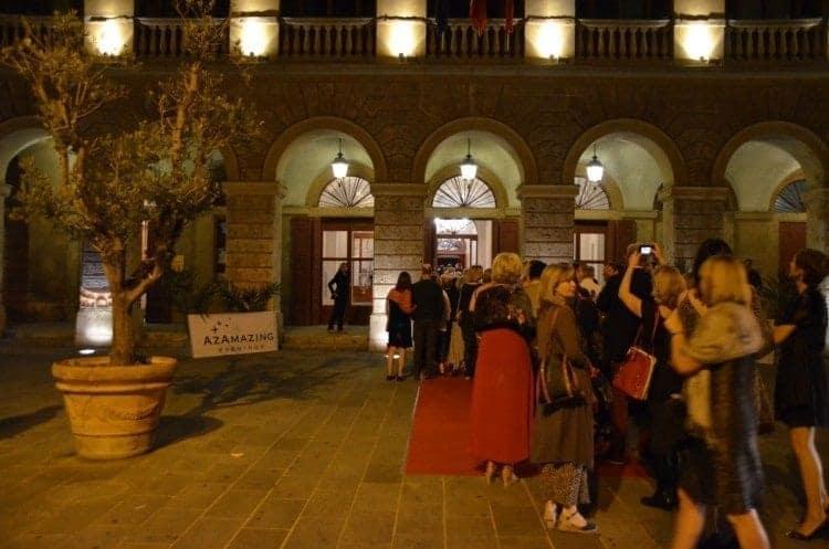 Azamara Cruises Azamazing Evening at the Goldoni Opera House in Livorno, Italy.