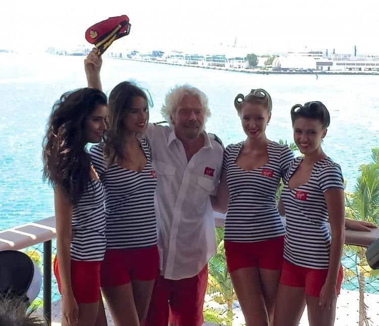 Richard Branson brings Virgin Cruises to Miami