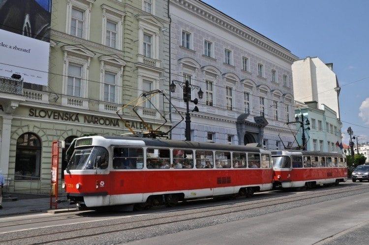 Downtown Bratislava Trolley