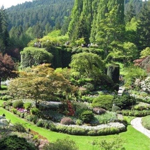 Princess Cruises California Coastal Wine cruise to Victoria, BC and Butchart Gardens.