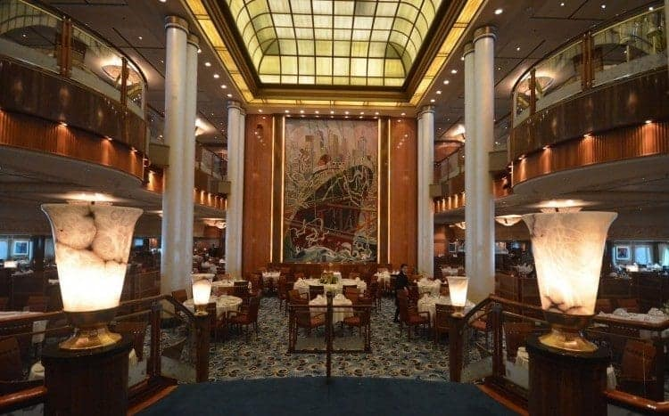 Cunard Queen Mary 2 Britannia Dining Room