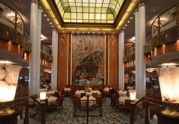 Cunard Queen Mary 2 Britannia Dining Room