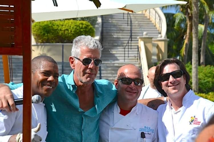 Remembering Anthony Bourdain – An Interview at the Grand Cayman Cookout