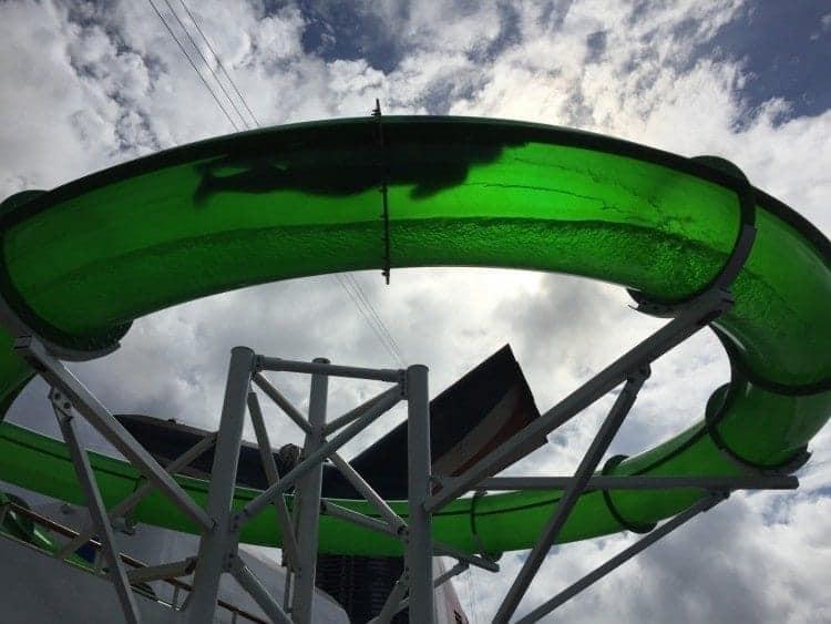 Carnival Pride Green Thunder