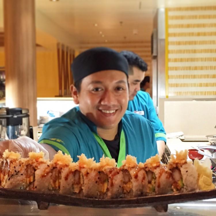Carnival Pride Bonsai Sushi