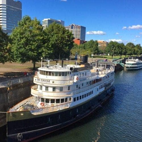 Un-Cruise SS Legacy in Portland