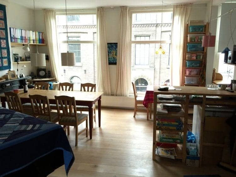 Air BnB vacation rental in Amsterdam