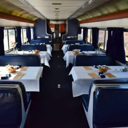 Amtrak Dining Car Silver Meteor