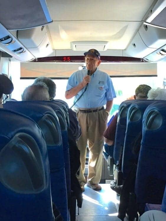 Un-Cruise Adventures motor coach tour to Ft. Walla Walla