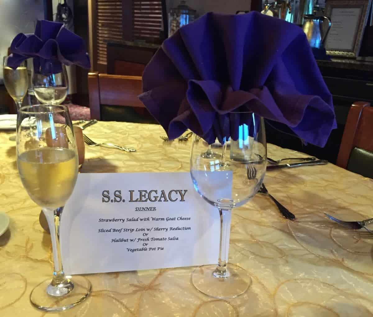 S.S. Legacy Farewell Dinner