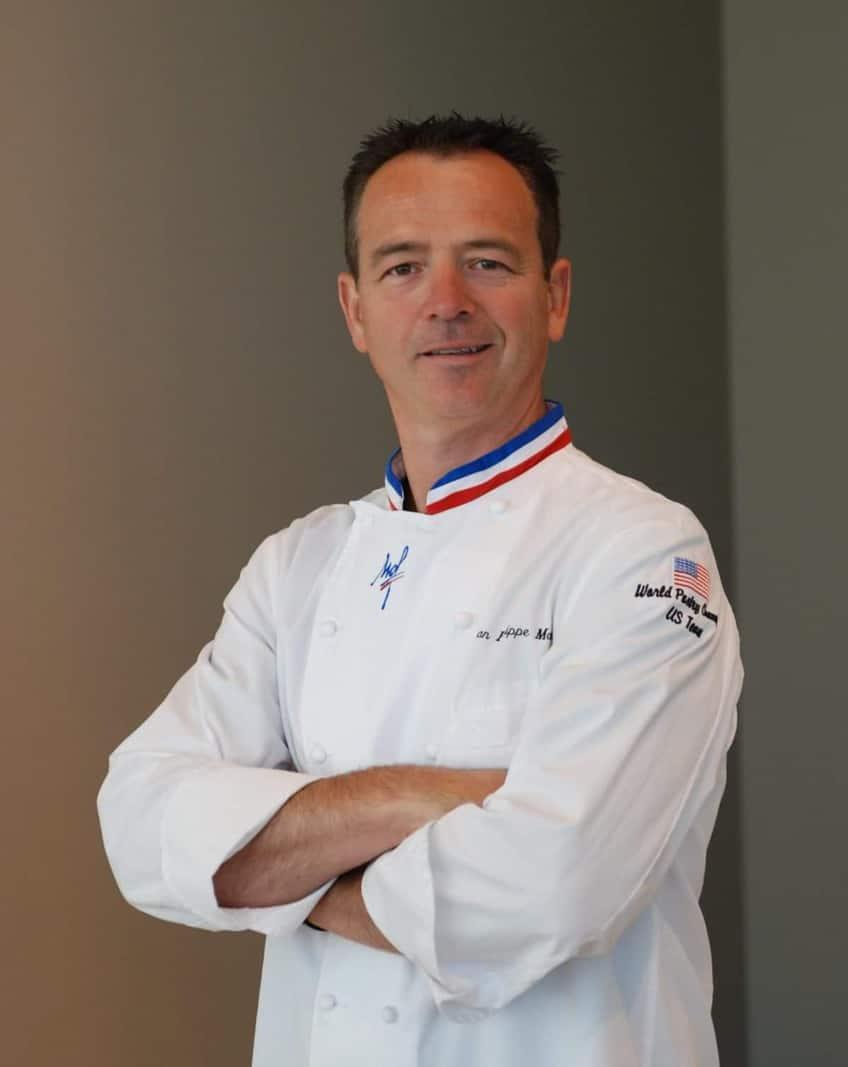 Award-winning pastry chef Jean Philippe Maury
