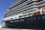 Holland America Eurodam at Port Everglades, Florida.
