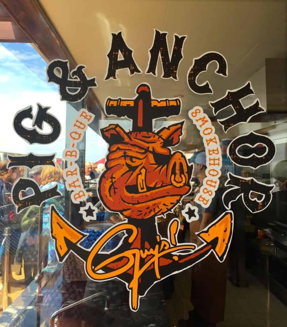Carnival Magic Pig and Anchor Logo