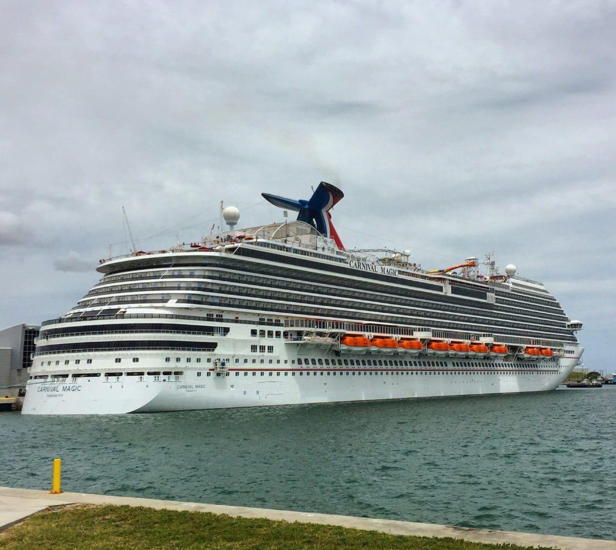 Carnival Magic at Port Canaveral